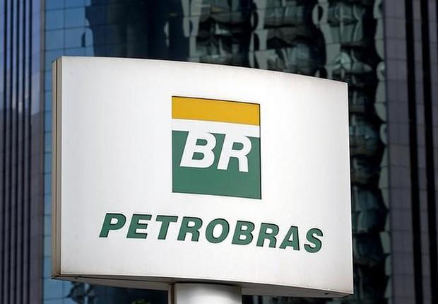 Logo da Petrobras em São Paulo (Foto: Paulo Whitaker/Reuters)