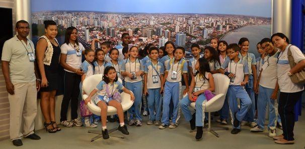 Proveto Visitação com alunos do Rei Davi (Foto: TV Sergipe/ Divulgação)