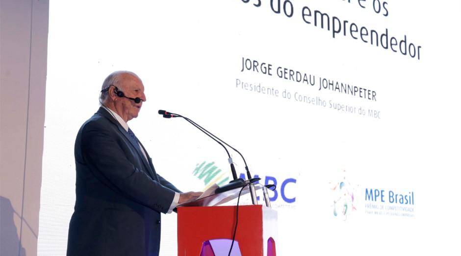 Jorge Gerdau: Na crise, o empreendedor não pode esquecer do cliente (Foto: Sebrae)
