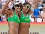 Talita e Larissa vão à final e encaram Walsh e Ross por título em Moscou