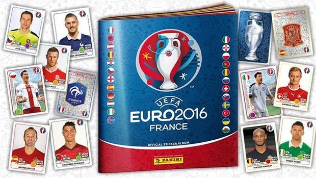 Álbum da Eurocopa na França