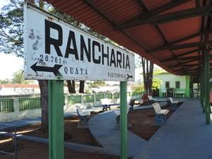 Rancharia inaugurou sua estação ferroviária em 1916 (Foto: Stephanie Fonseca/G1)
