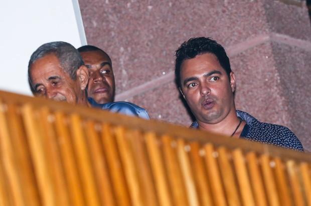 Camarguinho, irmão de Zezé di Camargo e Luciano, assiste ao show da dupla (Foto: Manuela Scarpa/Photo Rio News)