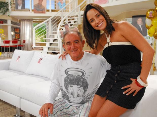 Em 2009, Fernanda Vasconcellos contracenou com Renata Aragão em 'A Turma do Didi' (Foto: TV Globo)