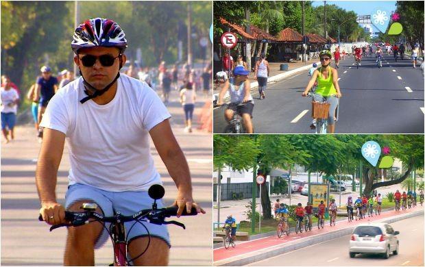 IV Fórum de Bicicleta Manaus discute alternativas de mobilidade urbana (Foto: Rede Amazônica)
