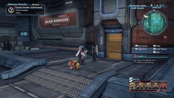 Xenoblade Chronicles X: entre em Blade Barracks (Foto: Reprodução/Victor Teixeira)