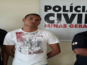 Ele se entregou a polícia (Foto: Polícia Civil/Divulgação)