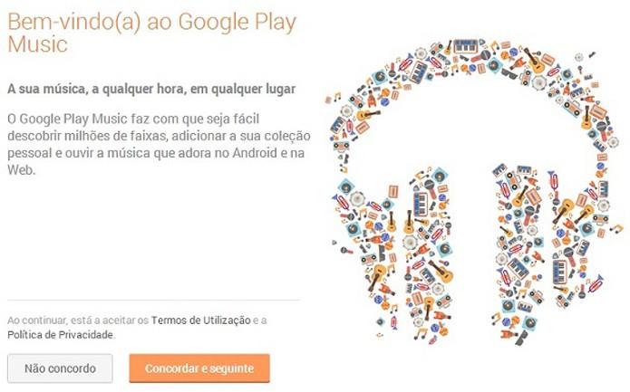 Google Play Music está disponível em português e foi liberado para iOS  (Foto: Reprodução/Thiago Barros)