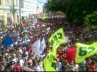 Trabalhadores protestam em Juiz de Fora contra reforma da Previdência