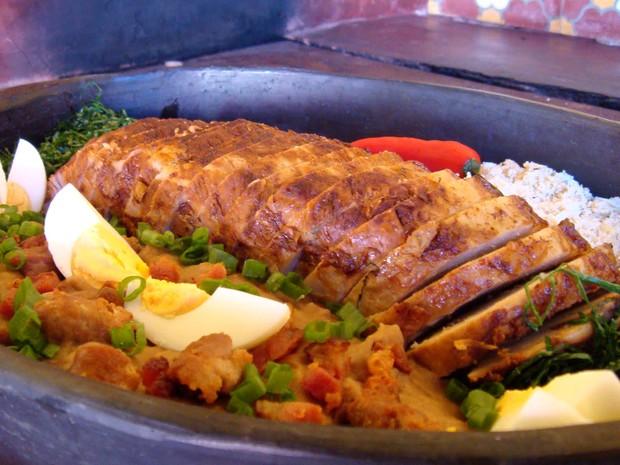 Lombo à mineira, um dos pratos do cardápio do restaurante Xopotó (Foto: Divulgação)