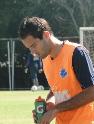 Thiago Carvalho, zagueiro do Cruzeiro (Foto: Valeska Silva / Globoesporte.com)