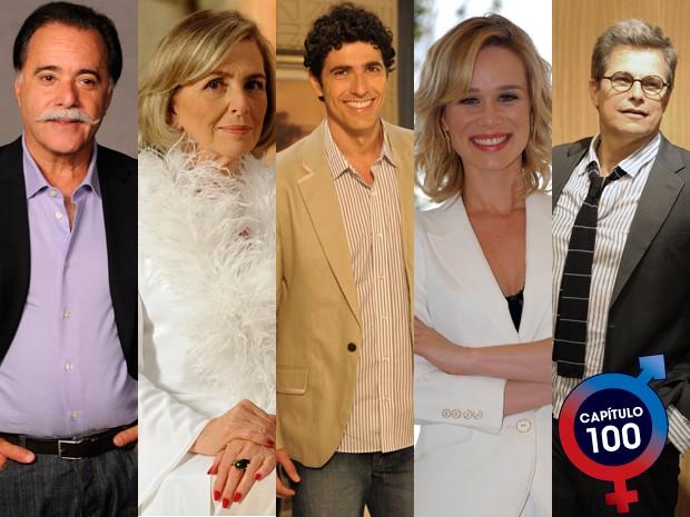 Atores escolhem suas cenas favoritas (Foto: Guerra dos Sexos/TV Globo)