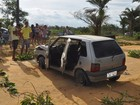 Acidente com carro roubado deixa um morto no município de Prado, na BA