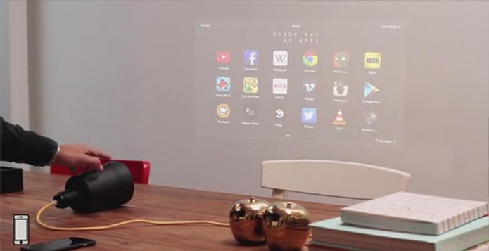 Beam é controlado com smart Android ou iOS (Foto: Divulgação/Kickstarter)
