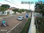 Câmeras registram assalto a uma mulher no norte de Palmas