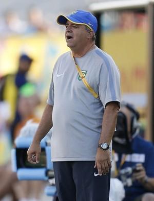 Vadão Brasil Feminino Futebol Pan (Foto: Rafael Ribeiro / CBF)