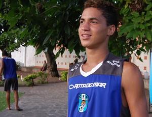 Carlos Caaporã, atacante do CSP (Foto: Kako Marques)