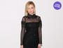 Look do dia: Kirsten Dunst usa pretinho nada básico em semana de moda
