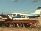 Após três meses de queda, aeronave permanece guardada em Guariba, SP