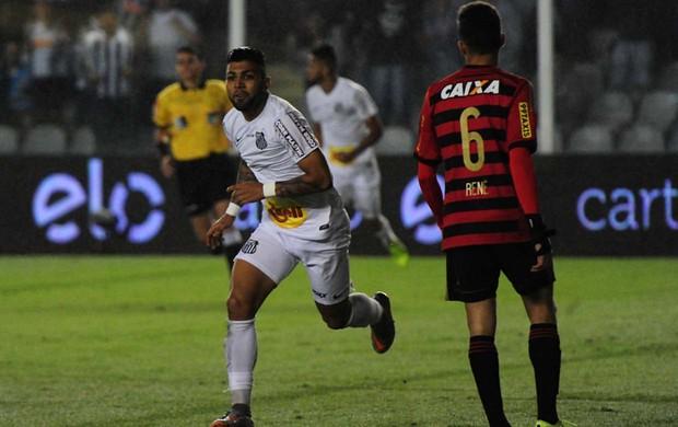 Gabriel, Santos x Sport