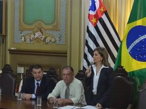 Nério Costa (PPS), ex-prefeito de Sertãozinho, (à esquerda) assumiu Coordenadoria para Fomento de Projetos em Ribeirão (Foto: Adriano Oliveira/G1)