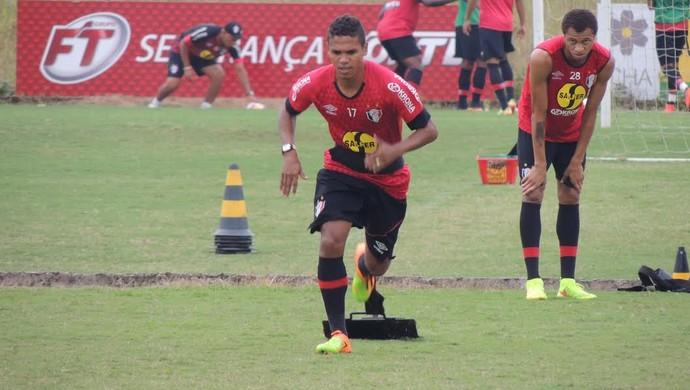 Fabinho Joinville (Foto: João Lucas Cardoso)
