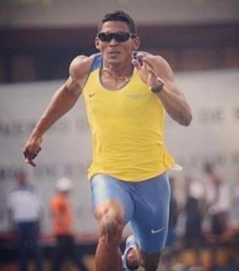 Ailson Feitosa conquista mais uma medalha de ouro  (Foto: Arquivo Pessoal)
