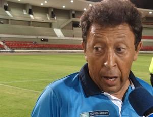 Lorival Santos, treinador do CSA (Foto: Caio Lorena / Globoesporte.com)