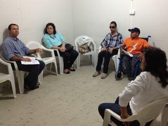 Vereador Lucas Aribé participou do encontro (Foto: Divulgação)
