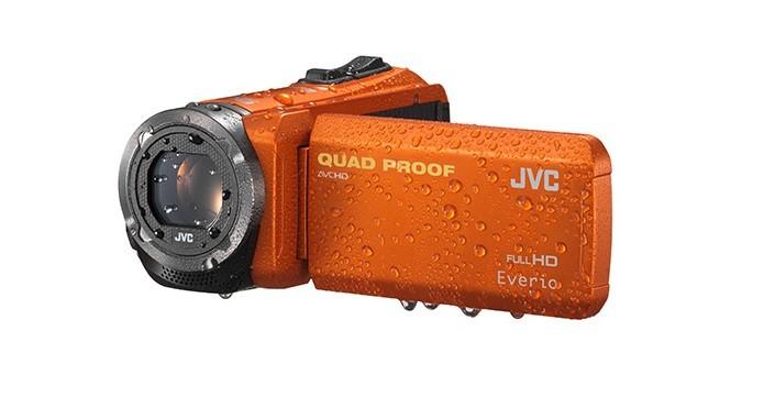 Novas filmadoras da JVC são à prova dágua e possuem zoom de 40x (Foto: Divulgação/JVC)