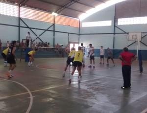 Quatis supera Pinheiral no tie-break e avança à final (Foto: Ádison Ramos/TV Rio Sul)