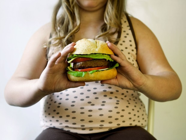 Obesidade infantil (Foto: Roos Koole / ANP MAG / ANP/AFP)