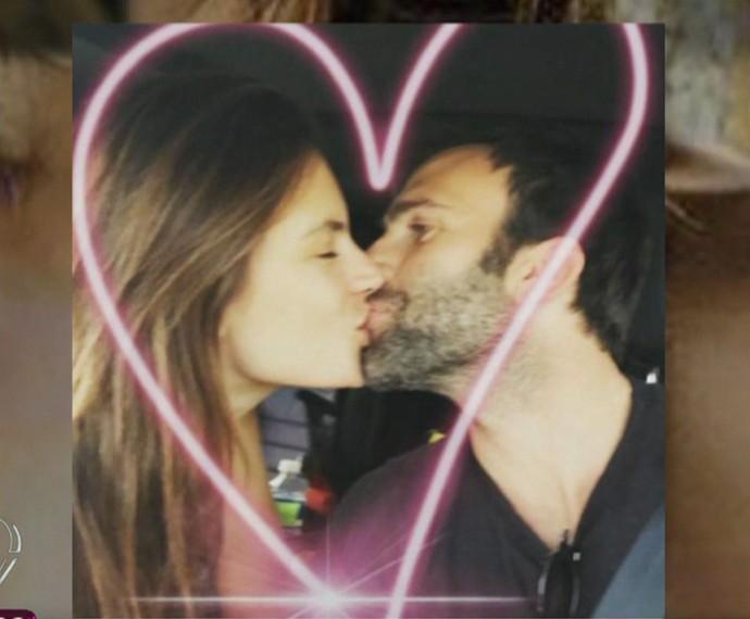 Alessandra e Jamie estão noivos há 7 anos (Foto: TV Globo)