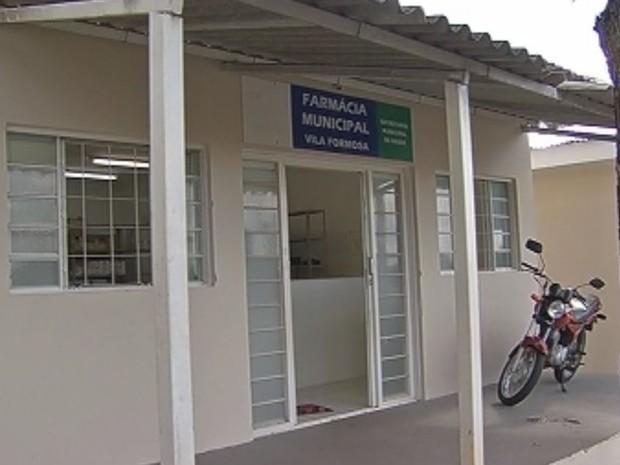 Remédios são entregues na Farmácia Municipal de Tupã  (Foto: reprodução/TV Tem)
