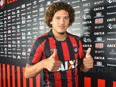 Felipe Gedoz Atlético-PR (Foto: Divulgação/ Atlético-PR)