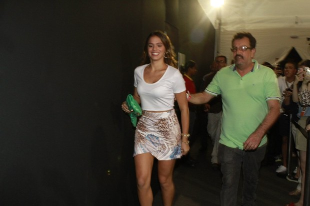 Bruna Marquezine no Fashion Rio (Foto: Roberto Teixeira / EGO)