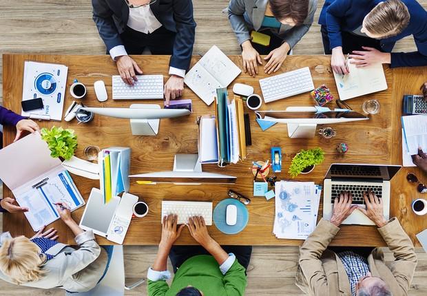 Carreira ; trabalho em equipe ; multidisciplinar ; marketing ;  (Foto: Thinkstock)
