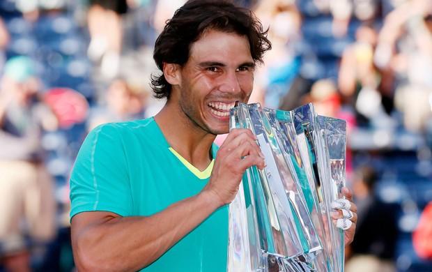 Rafael Nadal tênis Indian Wells (Foto: Reuters)