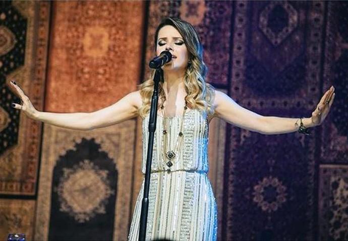 Sandy lança nesta quinta-feira a turnê do novo DVD, 'Meu Canto' (Foto: Arquivo Pessoal)