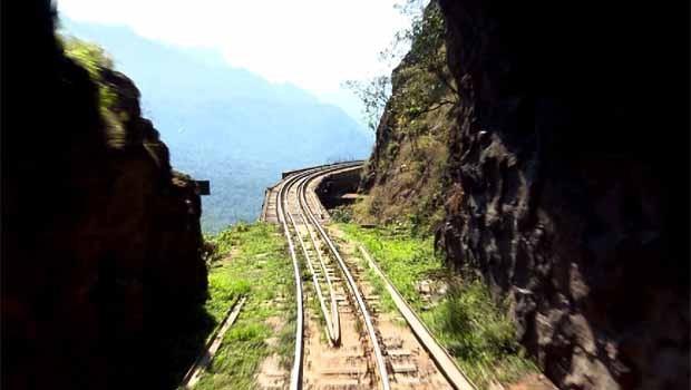 O Meu Paraná deste sábado (8) vai viajar na Litorina, trem de luxo da Serra do Mar (Foto: Reprodução/RPC)