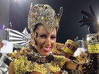 Rainha da Gaviões da Fiel, Tati Minerato usa fantasia de R$ 15 mil