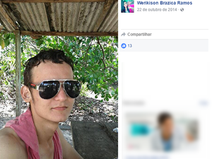 Werikison Brazica não resistiu aos ferimentos (Foto: Reprodução/Facebook)