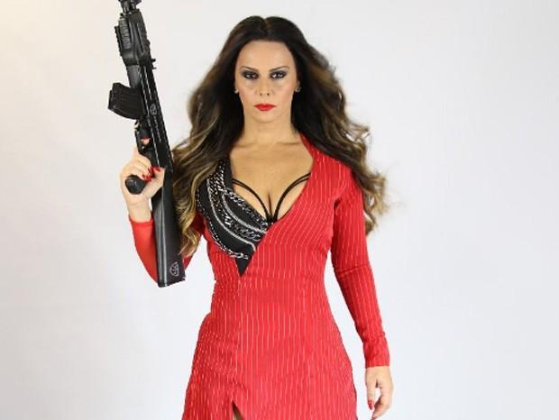 Viviane Araújo como Lili Carabina (Foto: Reprodução/Instagram)