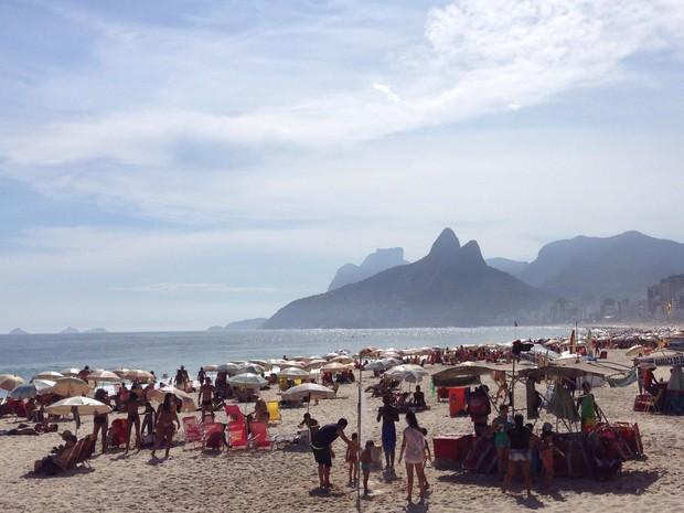 Praias são um dos cartões-postais do Rio para atrair turistas  (Foto: Káthia Mello/G1)