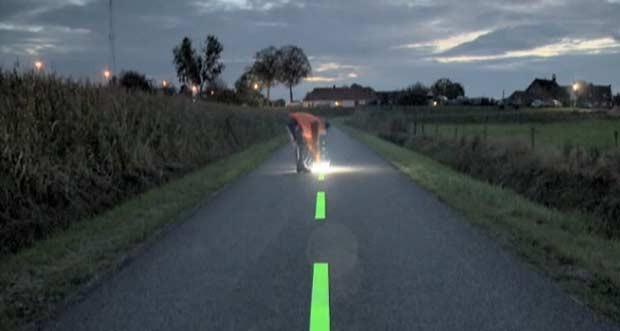 Holanda cria ciclovias com faixas que 'acendem' e pistas aquecidas (Foto: BBC)