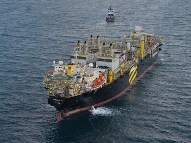 Plataforma de petróleo será montada em Rio Grande (Foto: Divulgação/Quip)