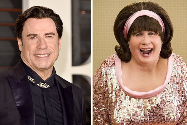 John Travolta interpretou Edna Turnblad no musical 'Hairspray'. (Foto: Getty Images)