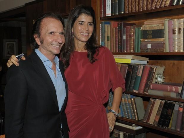 Emerson Fittipaldi e Rossana Fanucchi (Foto: Francisco Cepeda / AgNews)