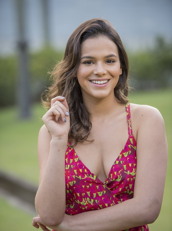 """Bruna Marquezine: """"Esse ano, eu senti que eu amadureci muito, que vivi coisas que me mudaram"""" (Foto: Tv Globo/ João Cotta)"""