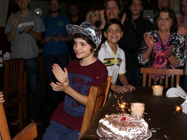 Kevin Vechiatto comemora aniversário em São Paulo (Foto: Thiago Duran/ Ag. News)